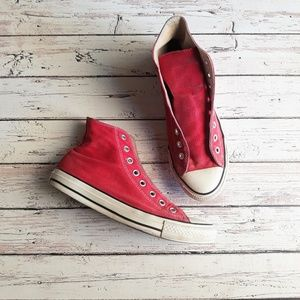 CONVERSE ALL STARS Chucks High Tops Red Unisex